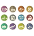 Car Insurance Icons vector image