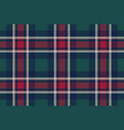 check plaid diagonal fabric texture seamless vector image vector image
