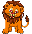 funny Lion cartoon vector image vector image