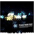 lights background vector image vector image