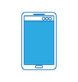 mobile phone technology device digital electronic vector image vector image