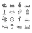 Auto Sport Icons Set vector image vector image