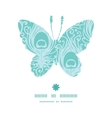 soft peacock feathers butterfly silhouette pattern vector image