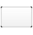 White marker board vector image
