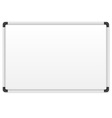 white marker board vector image vector image