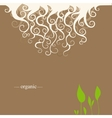 Background for cover vector image vector image
