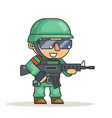 battle war rpg game soldier heroe isolated vector image vector image