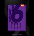 calendar ui june image vector image vector image