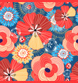 flower bright pattern vector image vector image