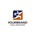 student choise logo design concept template vector image