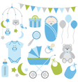 Baby Boy Set vector image