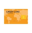 card money credit global vector image
