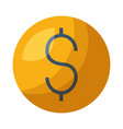 dollar money symbol vector image vector image