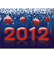 new year typography vector image vector image