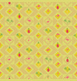 seamless wallpaper with tropical fruit pineapple vector image vector image