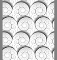 spiral pattern vector image vector image
