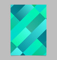 gradient modern colorful diagonal rectangle vector image vector image