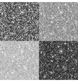 metal background set vector image vector image
