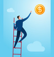 reach business success vector image vector image
