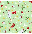 Seamless cute christmas pattern