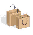 shopping bags big sale sellout retail black vector image