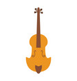 violin music instrument vector image vector image
