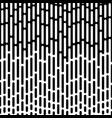 abstract geometric black and white pattern vector image
