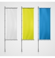 Banner Flag vector image vector image