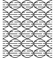 Dna seamless pattern vector image