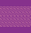 party background random scattered pink dots vector image