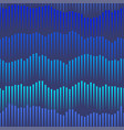 sea and sound wave blue seamless pattern vector image