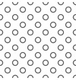 tile pattern with black and white dots seamless vector image vector image