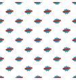 comic boom kaboom pattern seamless vector image vector image