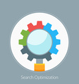 Flat design concept for Search Optimization vector image
