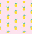 pineapple seamless pattern background eps10 vector image vector image