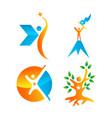 success logo design graphic template vector image vector image