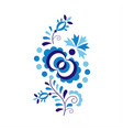 traditional folk ornament and pattern vector image vector image