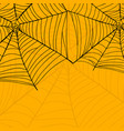 background of spider web for happy vector image