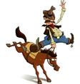 Cowboy loser vector image