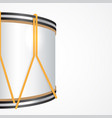 festive background with a majorette drum vector image vector image