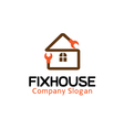 Fix House Design vector image vector image