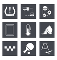 Icons for Web Design set 30 vector image vector image