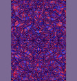 psychedelic tryppi colorful symmetrical pattern vector image vector image