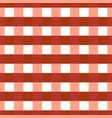 seamless textile pattern retro red background vector image