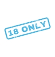 18 Only Text Rubber Stamp vector image