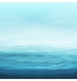 Abstract Design Creativity Background of Blue Sea vector image