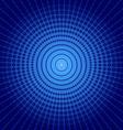 Blue vortex background vector image vector image