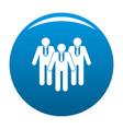 board directors icon blue vector image vector image