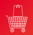 Shooping design vector image