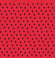 sweet watermelon red pattern seamless texture vector image vector image